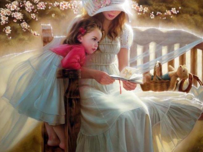 Предпросмотр схемы вышивки мать и дитя. мать и дитя, предпросмо