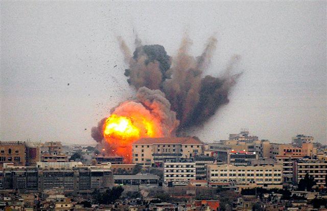 israeli war explosion