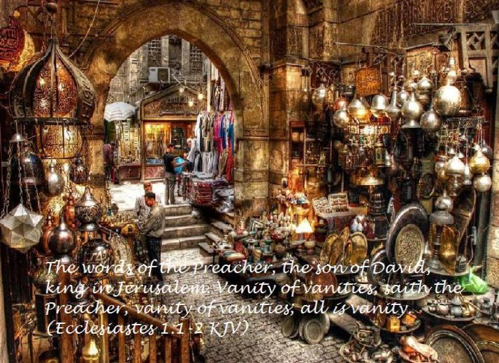 Ecclesiastes 1 verses 1 to 2