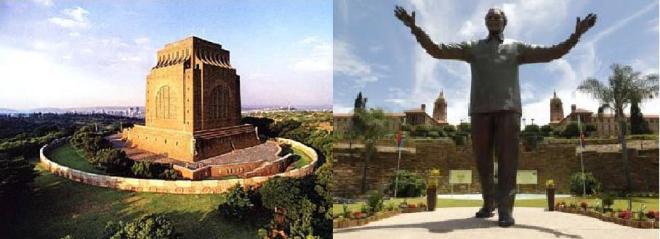 Madiba vs Voortrekker Monument 16 Dec 2013
