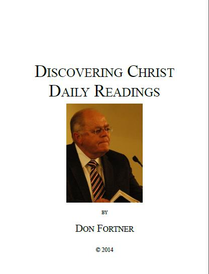 Discovering Christ Daily Readings Image Don Fortner
