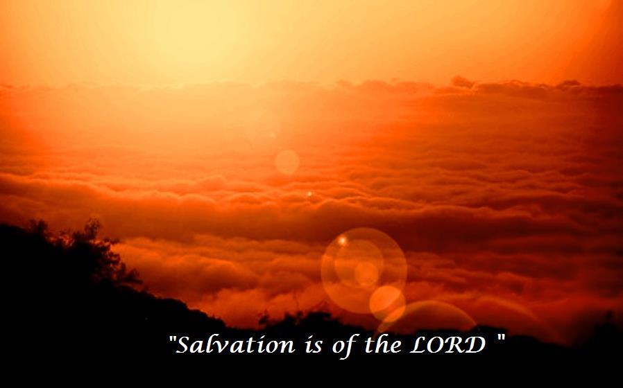 Image result for salvation is of the Lord